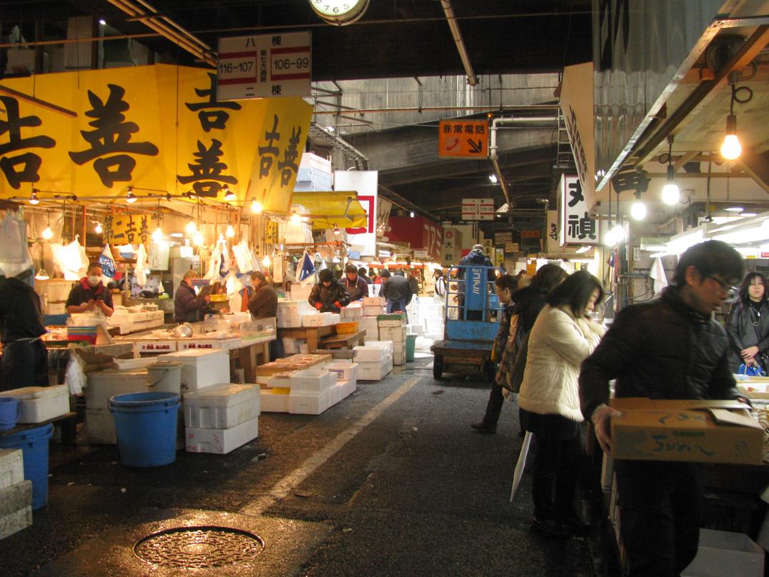 Guida di Tokyo zona per zona: Tsukiji e il mercato del pesce - youinJapan.net